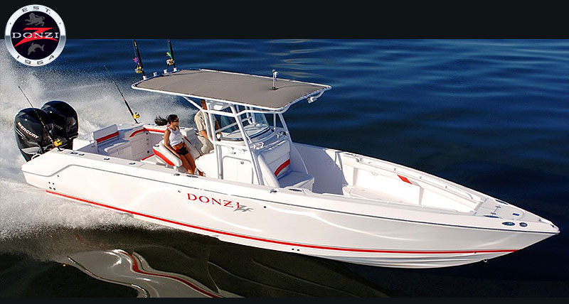 Donzi 35 zfx cuddy for Donzi fishing boats