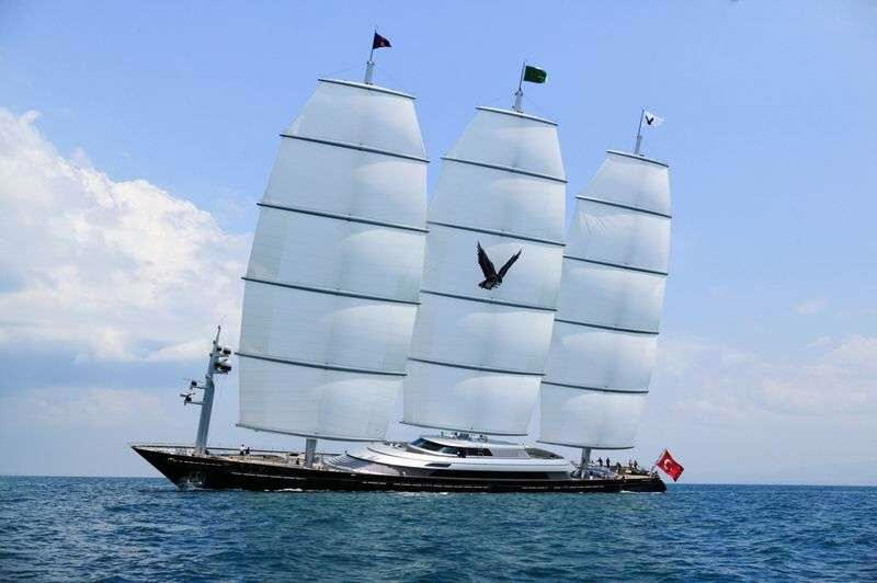 The Maltese Falcon isn't a classic yacht, she's a new class of yacht.