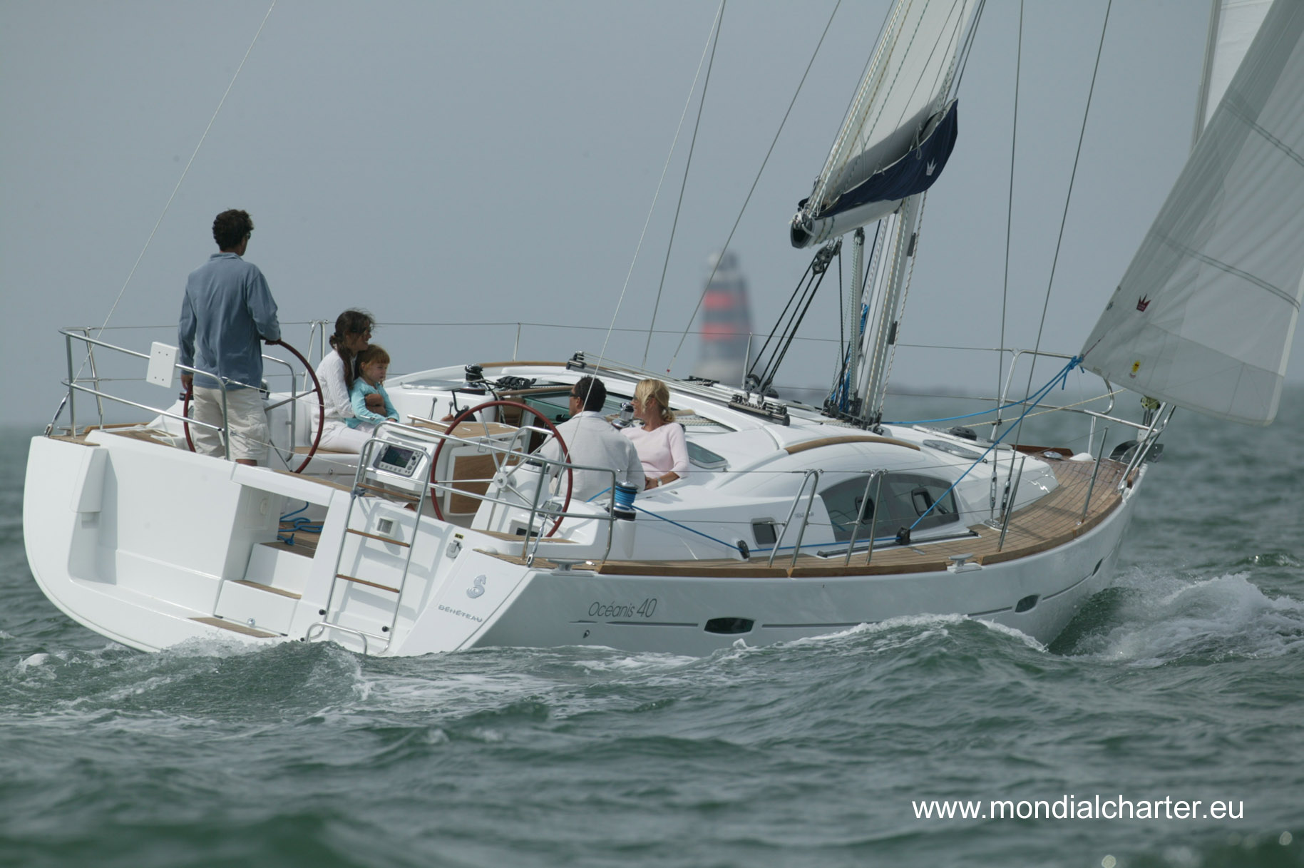 Beneteau Oceanis 40 in Greece for charter BY AIBSAILING