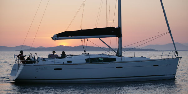 Beneteau Oceanis 43 in Greece for charter BY AIBSAILING