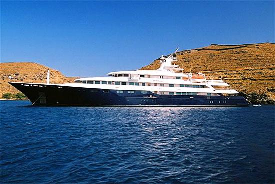 MEGA YACHT O'Mega for charter by AIBSAILING