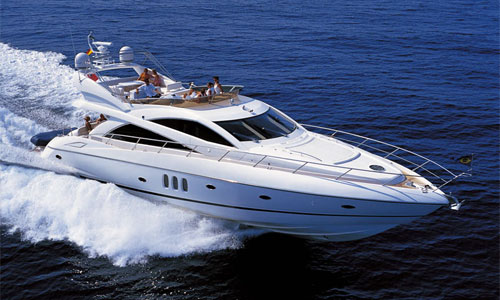 Sunseeker Manhattan 66 Yacht available for charter in the West Mediterranean ...