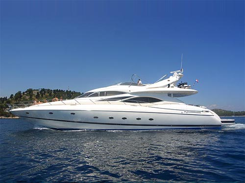 Motor yacht Sunseeker Manhattan 84 for charter by AIBSAILING